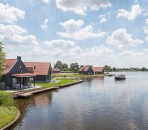 waterpark-langelille-vakantiepark-friesland-boot